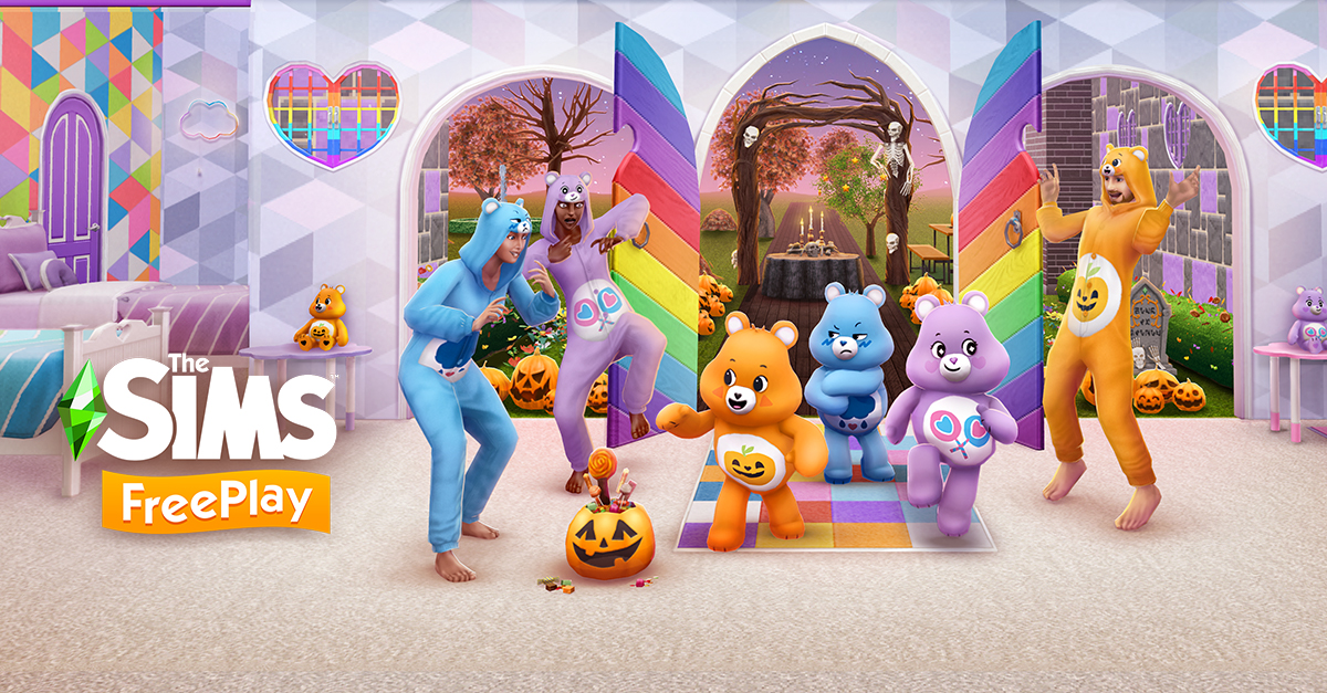 The Sims Freeplay CARE BEARS update