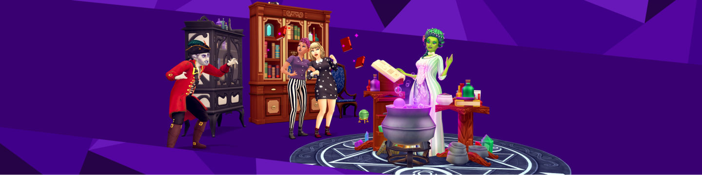The Sims Mobile Haunted Halloween Update 2020