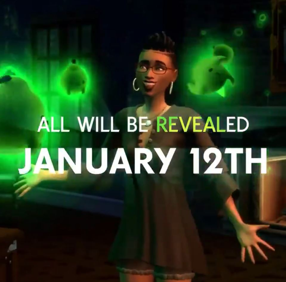 The Sims 4 Happy Haunts pack HINT!
