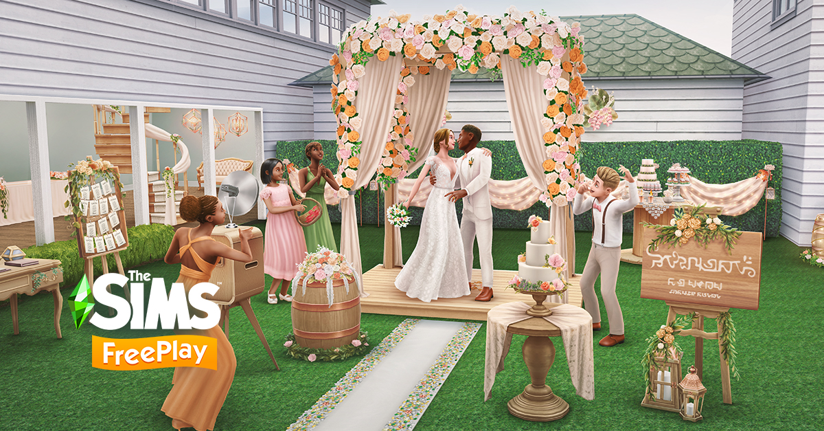 The Sims Freeplay Rustic Wedding January 2021 Update Schedule