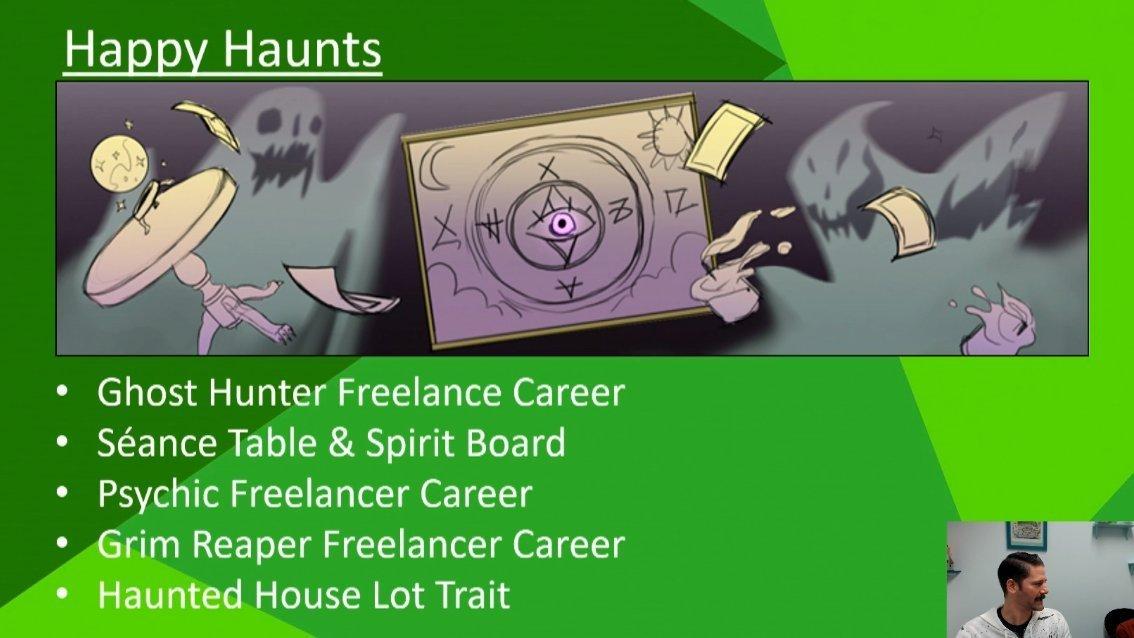 The Sims 4 Happy Haunts