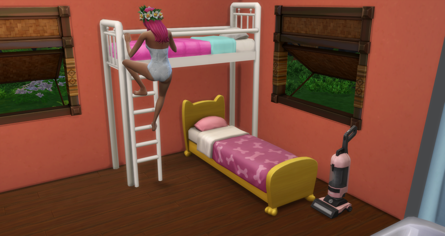 Bunk beds finally added to The Sims 4