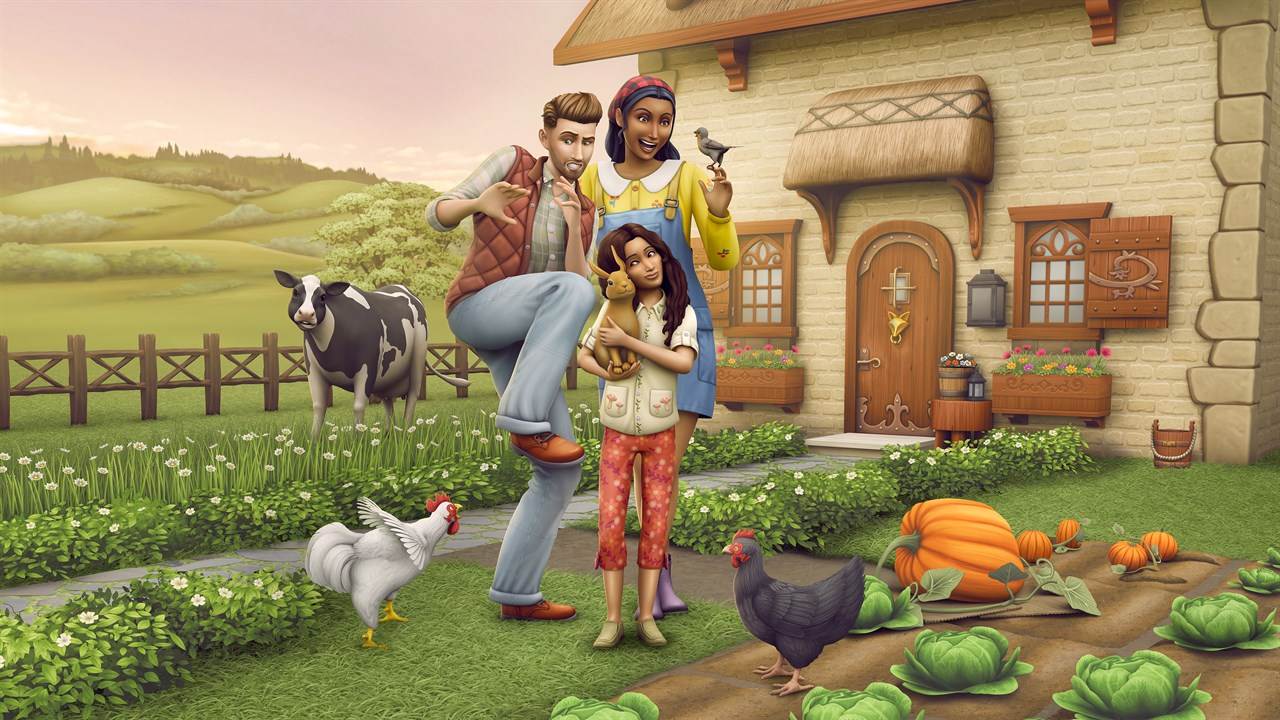 Cottage Living has reignited my love for The Sims 4